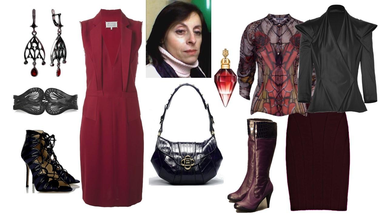 Платье стилевое решение и модные средства реализации